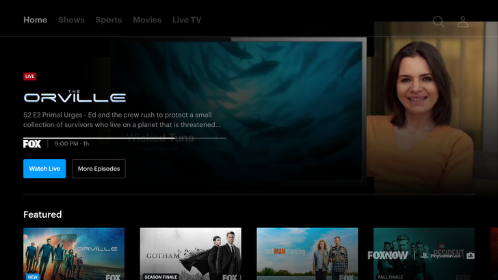After more than a year with no updates, Fox Now overhauls its Android TV app