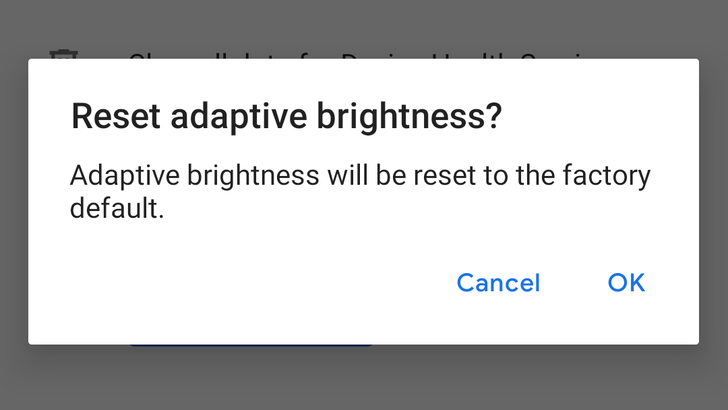 You can now reset Adaptive Brightness in Android 9 Pie without clearing all battery data [APK Download]