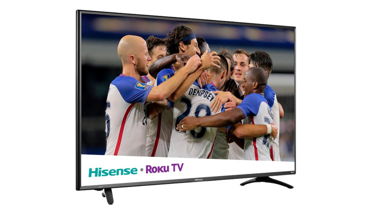 You can get a 55-inch Hisense 4K Roku TV for $300 ($200 off) at Best Buy right now