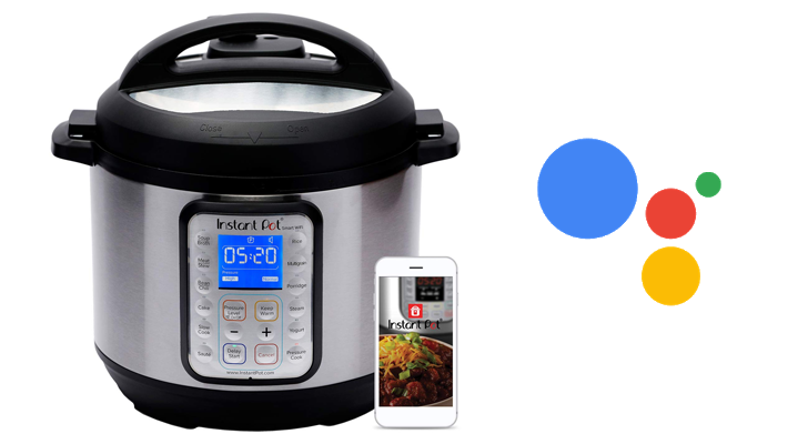 The Smart Wi-Fi Instant Pot will soon work with Google Assistant