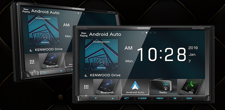 Kenwood introduces three Android Auto head units for 2019, topping out at $1,600