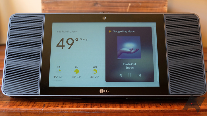LG ThinQ View smart display review: It's $250, loud, and kind of ugly