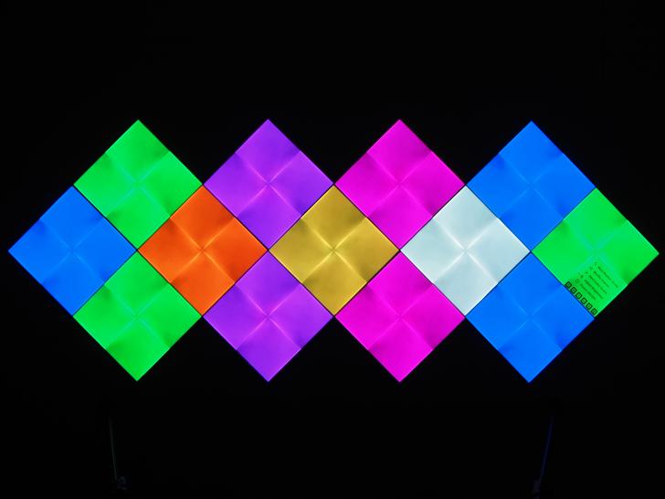 Nanoleaf Canvas review: The funkiest smart lights get cooler, better