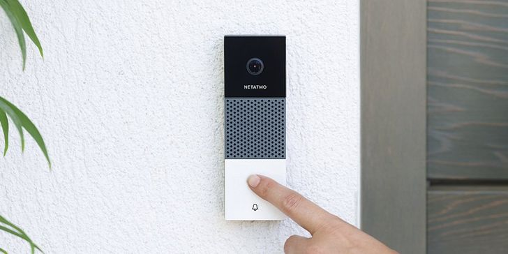 Netatmo's new smart video doorbell has SD card support, no subscription fees