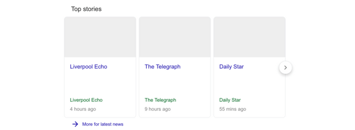 Google is testing stripped-down news results that comply with imminent new EU copyright law