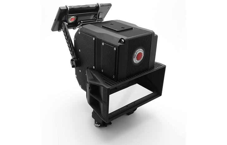 Red's Lithium is a huge 3D camera rig for the Hydrogen One