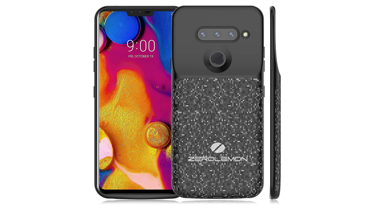 ZeroLemon's latest ugly battery case is for the LG V40 ThinQ