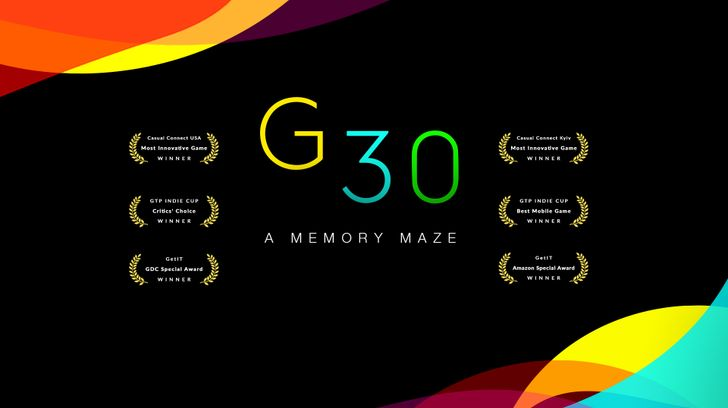 G30 - A Memory Maze is an award-winning minimal puzzle game that's finally available on the Play Store