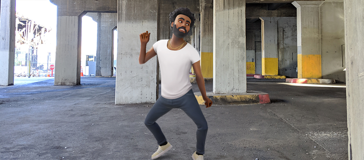Childish Gambino AR Playmoji dances onto your Pixel five months after Google reveal