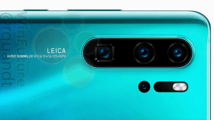 [Update: Side views] New Huawei P30 Pro renders showcase color options, hint at 10x optical zoom lens
