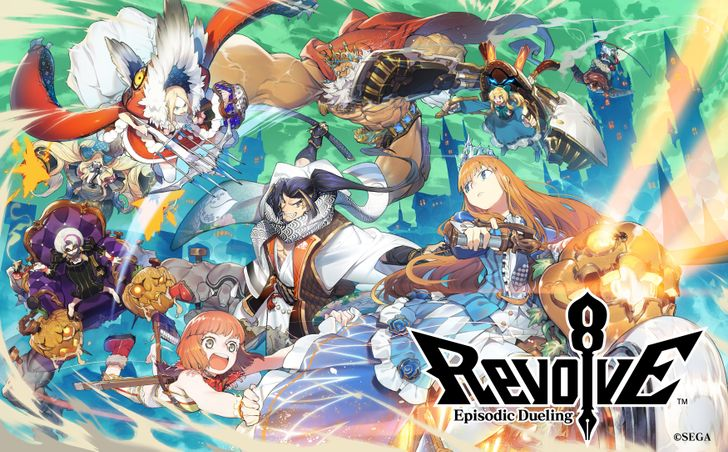 Revolve8 is Sega's take on Clash Royale, and it's globally available today