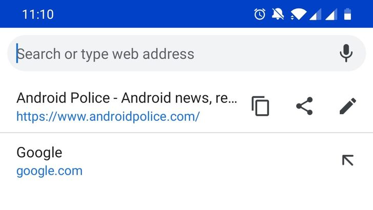 Chrome Beta 73 adds copy and share buttons to address bar, improves media playback on PCs, and more [APK Download]
