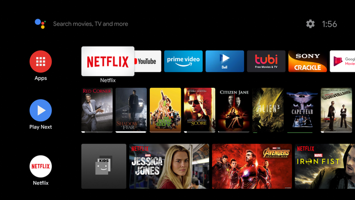 Android TV UI update brings rounded icons and Google Sans font