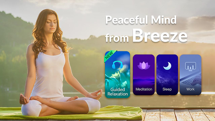 Relax your mind with Breeze, a meditation app by CooTek [Sponsored Post]