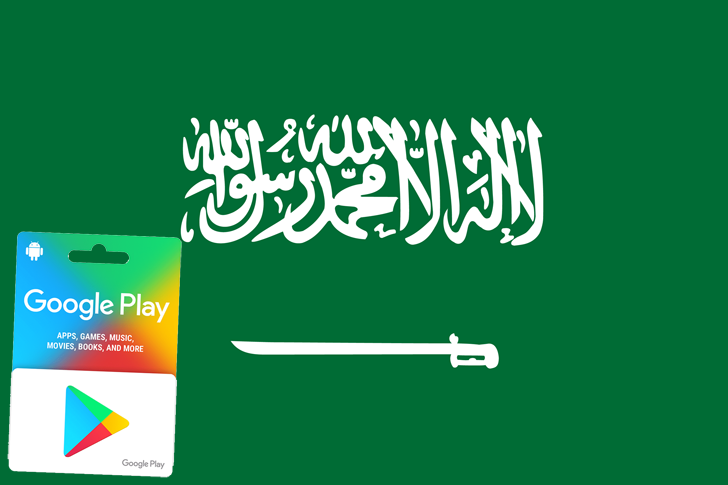Google Play gift cards are now available in Saudi Arabia