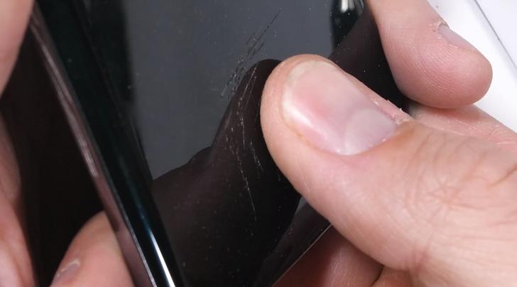 JerryRigEverything puts the Galaxy S10's ultrasonic fingerprint sensor to the test