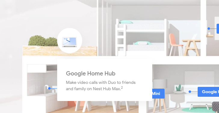 Google accidentally leaks Nest Hub Max, a 10-inch smart display with a camera