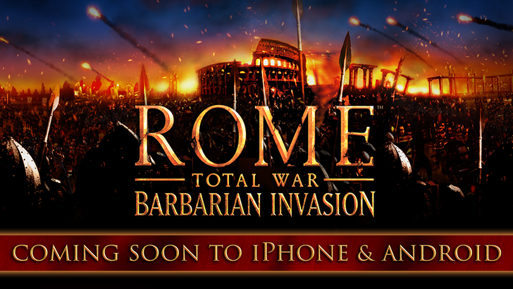 [Update: Out now] ROME: Total War – Barbarian Invasion expansion coming to Android this year