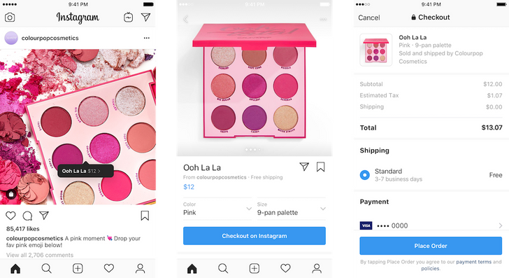 Instagram Checkout lets you buy stuff without having to leave the app