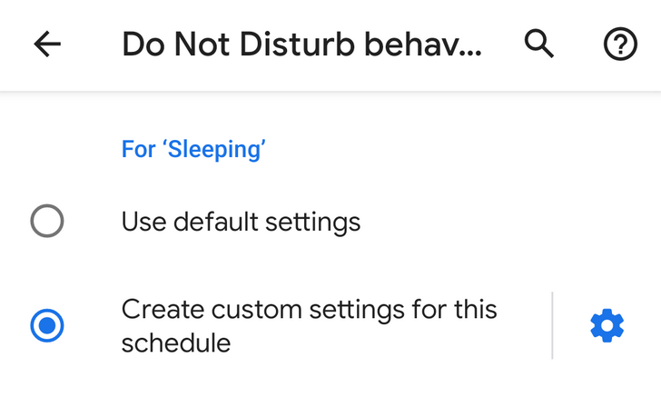 Do Not Disturb schedules can be customized on Android Q