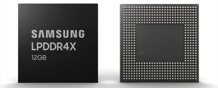 Samsung starts mass-producing new 12GB RAM for smartphones