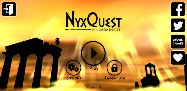 NyxQuest: Kindred Spirits is a beautiful puzzle-platformer, and it's finally available on Android