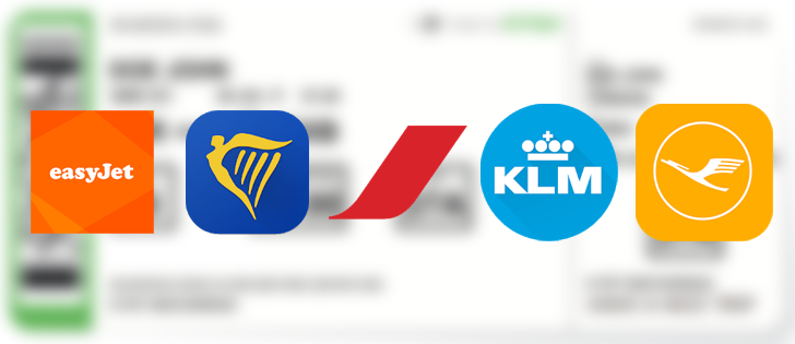 [Update: Alaska Airlines too] Ryanair, Air France, KLM, EasyJet, and Lufthansa boarding passes can now be saved to Google Pay