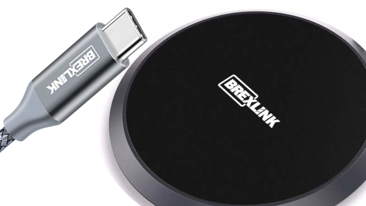 [Update: Winners] Giveaway: Win one of 20 packs of BrexLink wireless chargers and USB Type-C cables (US)