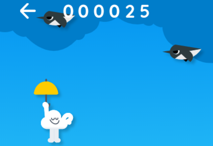Googles New Offline Easter Egg Game Is Like Flappy Bird