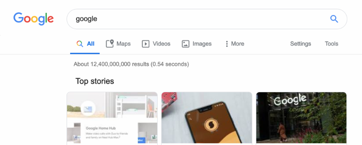 [Update: Rolling out to all] Google tests Material Theme icons for desktop search menu filters
