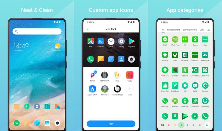 Xiaomi's Mint Launcher comes to the Play Store, but it's not available on any phones yet [APK Download]