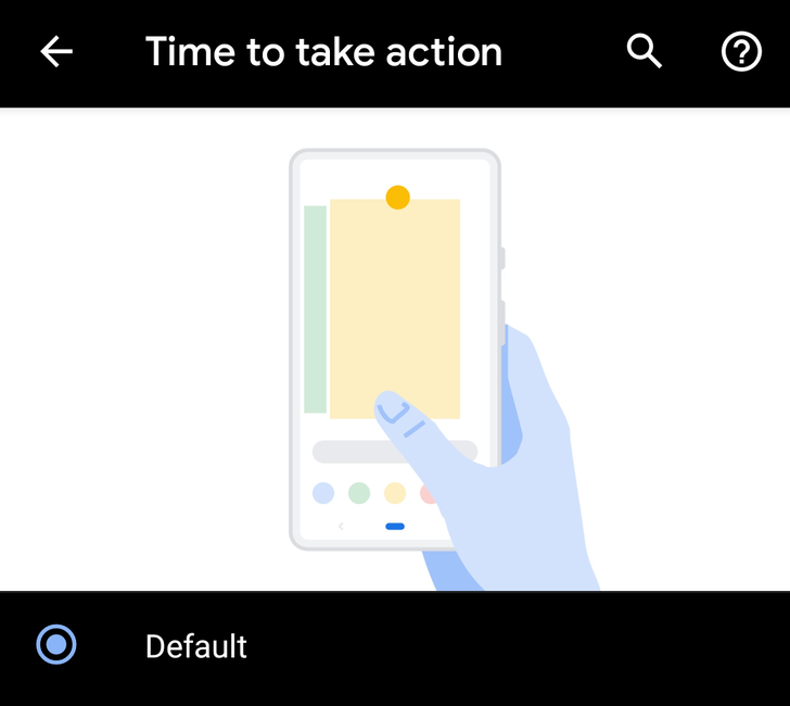 New Android Q settings promise more time to read and act on alerts, but neither seems to work yet