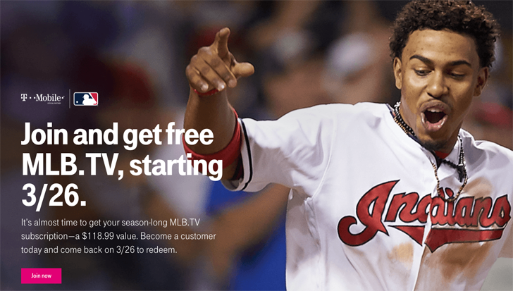 Grab your free year of MLB.TV from T-Mobile starting today, March 26 (Updated)