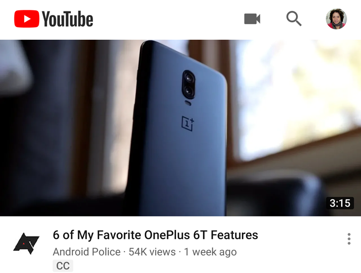 YouTube video titles are bolder, smaller, and fit more words on your screen