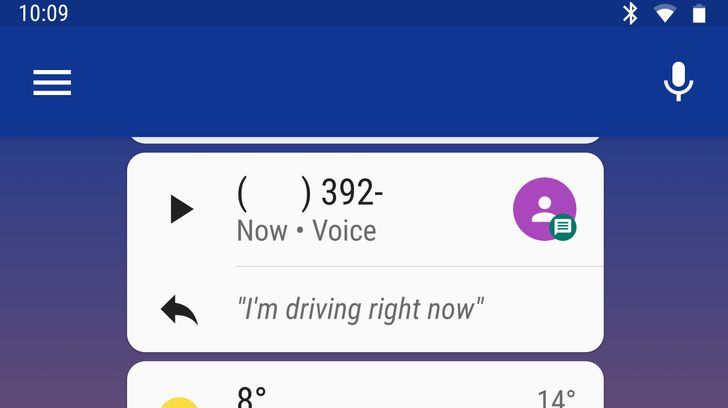 Android Auto update brings half-baked support for Google Voice messages