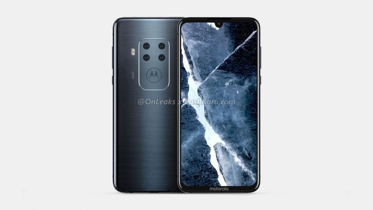 Motorola is readying a phone with four rear cameras according to these CAD renders