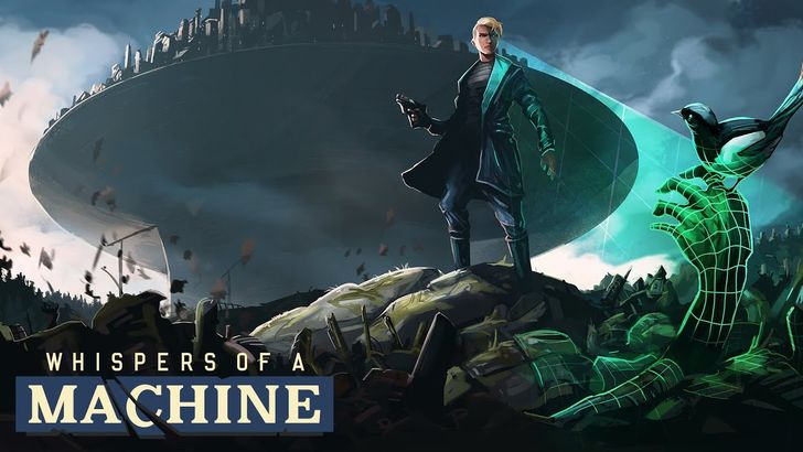 Whispers of a Machine is a fantastic sci-fi noir point-and-click adventure game out now on Android