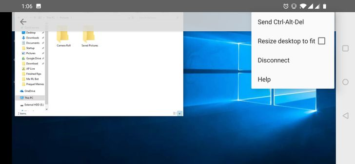 Chrome Remote Desktop v71 adds non-functional display resize feature, and not much else [APK Download]