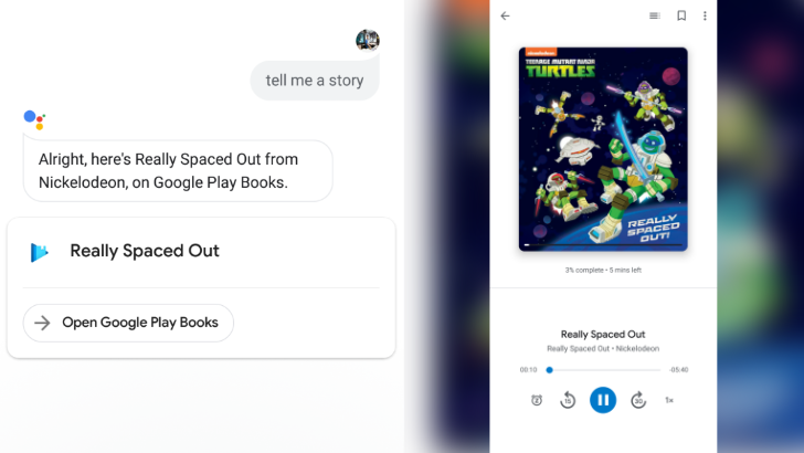 Storytime, anytime: You can now ask Google Assistant to tell you a story from your phone