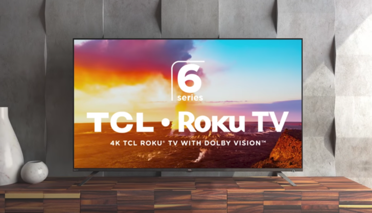 """TCL's best 4K HDR 55"""" TV is at its lowest price ever if you buy with an Amazon credit card"""