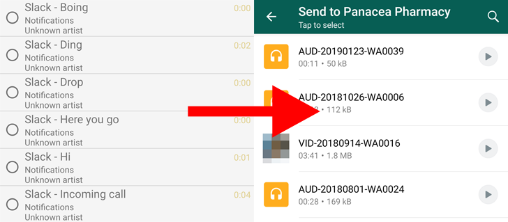 WhatsApp improves audio attachment process with new UI, multi-selection, and previews