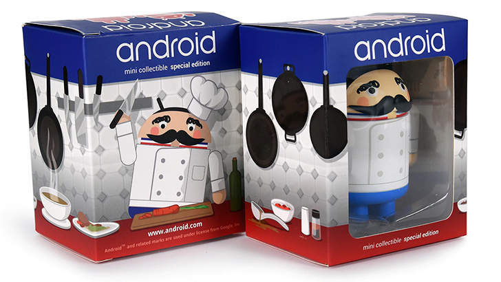[Update: That sold out fast] Dead Zebra cooks up new limited-edition French chef Android mini