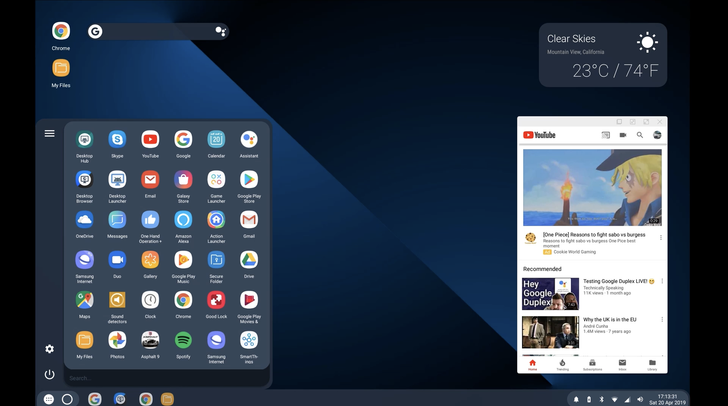 Android Q desktop mode up and running through experimental third-party launcher