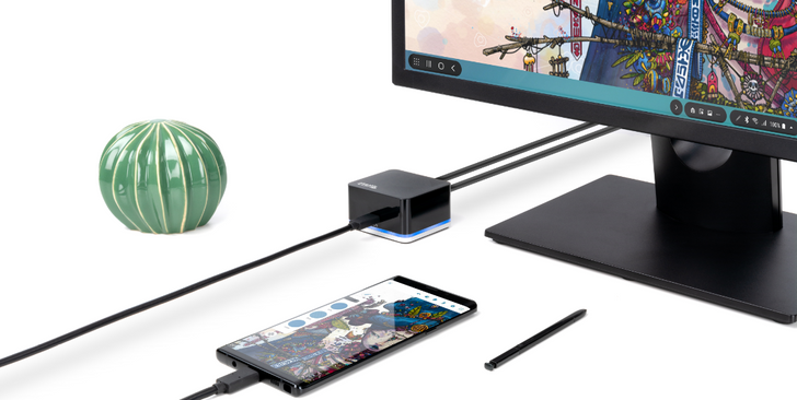 Plugable launches Cube USB-C docking station for Samsung devices