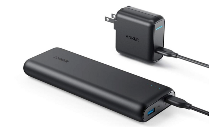 Get Anker's 20,100 mAh power bank plus a 30W USB-C charger for $60 ($40 off)