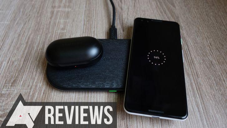 Choetech's five-coil wireless charging pad can fill up two devices at once