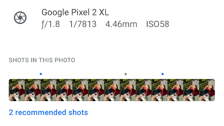 Google confirms Top Shot isn't coming to the Pixel 2, despite some seeing 'dots' in Motion Photos