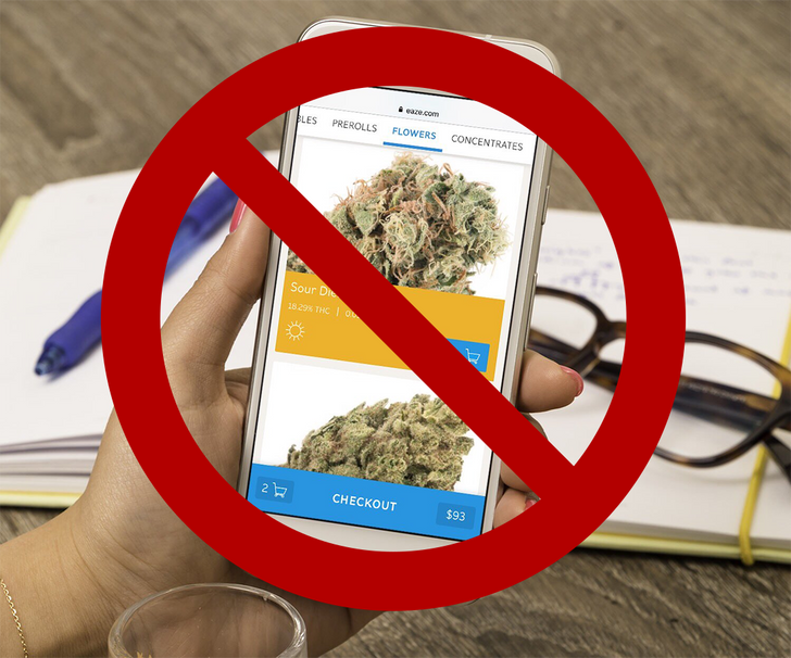 [Update: Google statement] No chill: Google just banned marijuana delivery apps from the Play Store