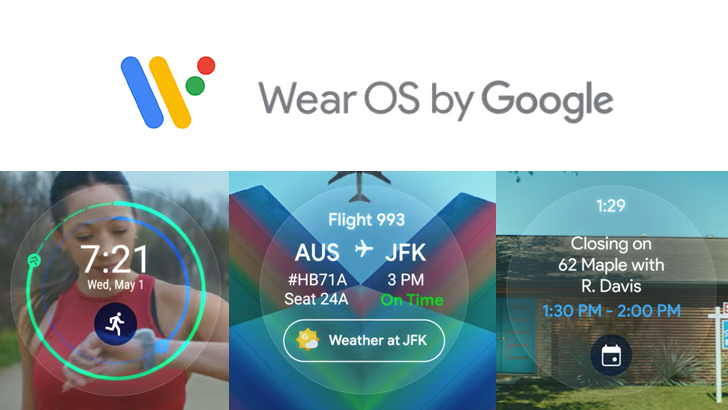 [Update: Rolling out] Upcoming Wear OS update will feature widget-like 'Tiles' for common actions