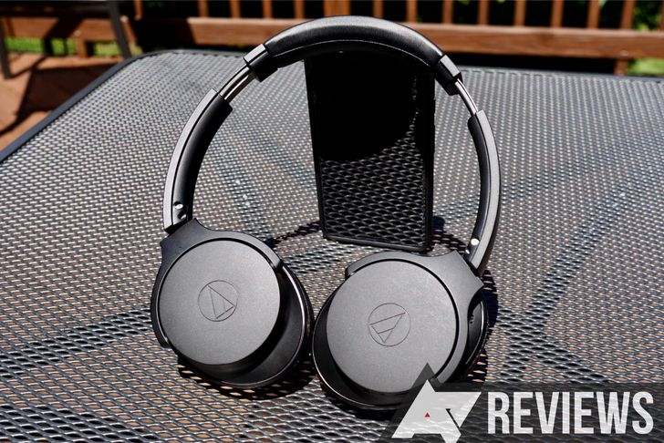 Review: Audio-Technica's $300 noise-cancelling headphones offer great sound quality and not much else